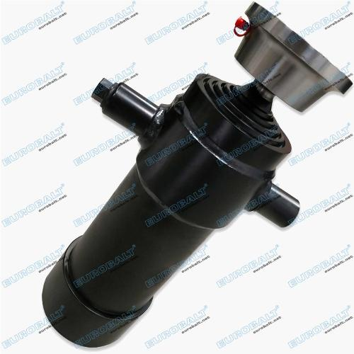Telescopic four-stage cylinder (piston stroke: 910 mm)