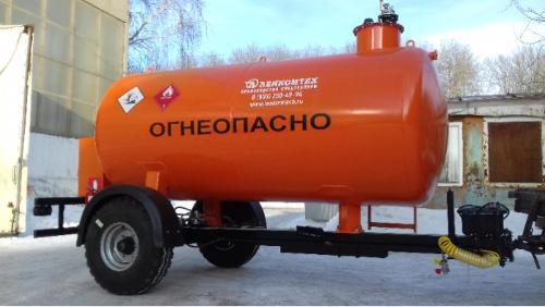 Fuelling semi-trailer tank LKT-TZ