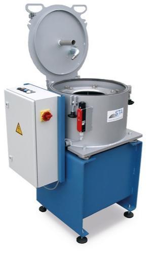 Halbautomatische Zentrifuge