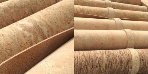 Yoga cork mat