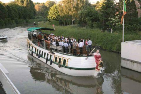 Boat Trip Ghent: river cruise 'De Gentse Barge'
