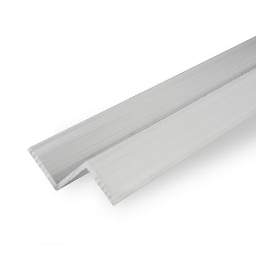 Aluminium Z-section, EN AW-6060, 3.3206, mill-finish, T66