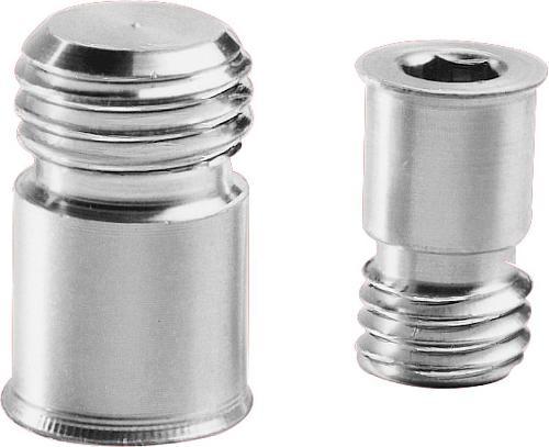 Bouchon de protection en aluminium