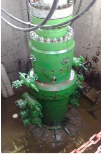 """BMC"" Wellhead & X-mas tree 15000 psi w.p."