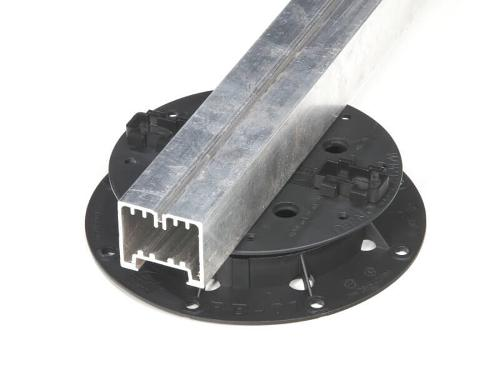 Aluminium fundatieprofielen plankenvloer