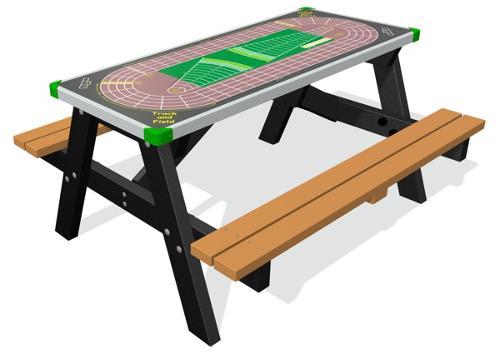 Kunststof picknicktafels