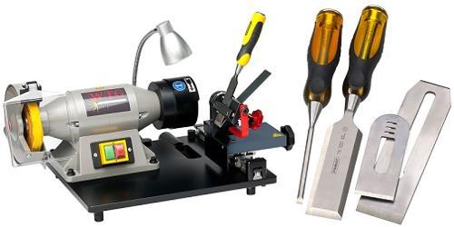 WTG-1 Stechbeitel und Hobelmesser schleif/schärf Maschine