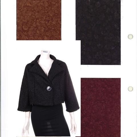 6553 giacca donna boucle