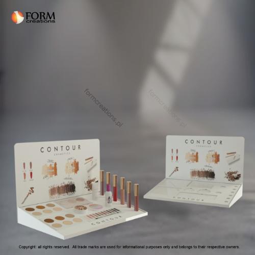 Counter acrylic display for cosmetics