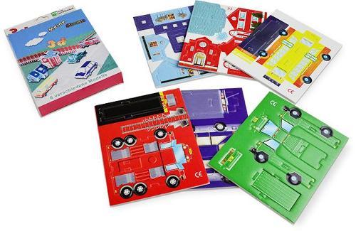 Educational Papier Puzzles