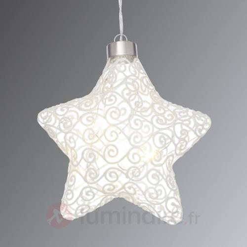 Lampe déco LED Windi étoile avec fonction Timer