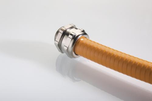 Schlauch-Kabelverschraubungslösungen für mehr Kabelschutz