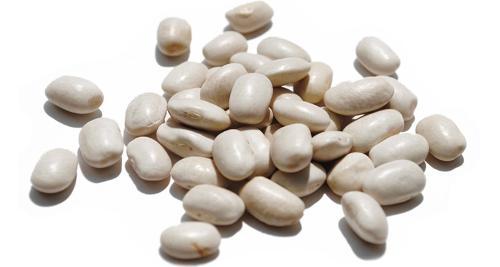 Weiße Bio Bohnen