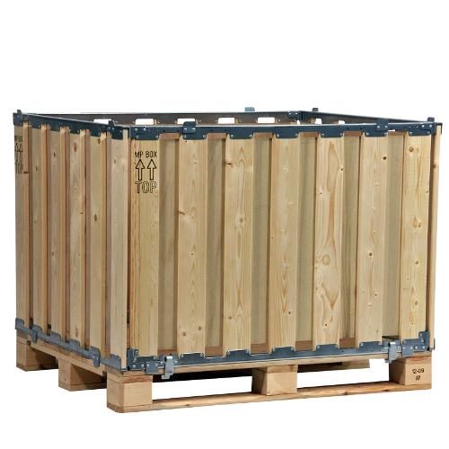4 Aufsatzrahmen mit Sperrholz im Inneren