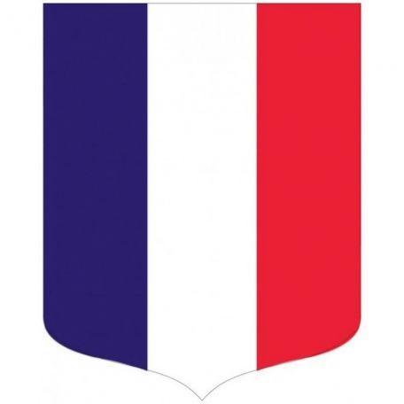 Écusson Porte-drapeaux Tricolore Gamme Éco