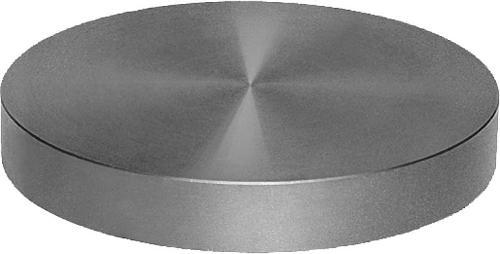 Plateau circulaire Fonte grise et aluminium