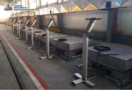 Plattformsvågar i rostfritt stål