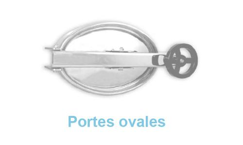 Portes Ovales