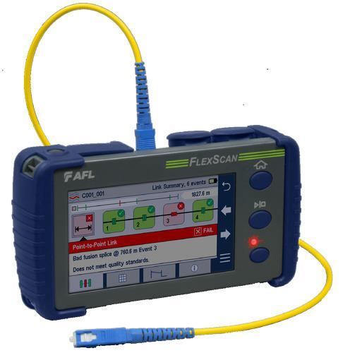 AFL | optische Messtechnik für PON FTTH und Active Ethernet