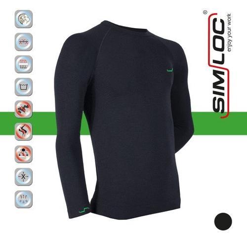 5-01-02 SIMLOC GREEN_LINE Langarmshirt