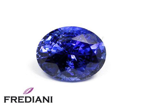 Saphir bleu de Madagascar