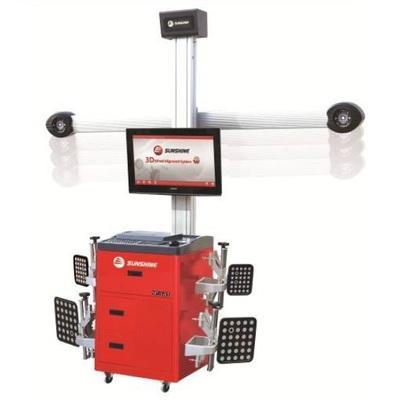 Contrôleur de géométrie 3D avec caméras automatique
