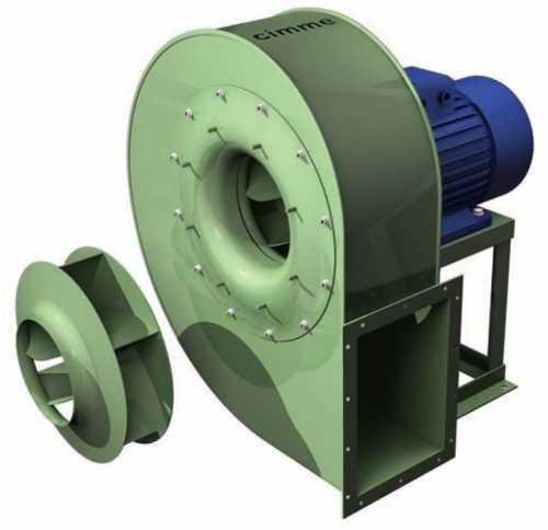 GCM • Ventilateur moyenne pression type GCM - Transmission directe