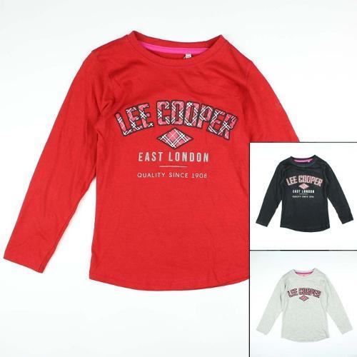 Producent Koszulka z długimi rękawami Lee Cooper