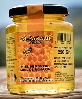 Rosemary Honey D.O. from Granada