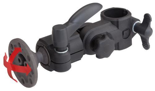 Monitorhalter mit Kugelgelenk (schwenkbar, höhenverstellbar)