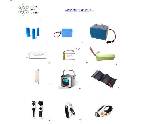 Li ion Batteries Power Banks Flashlights