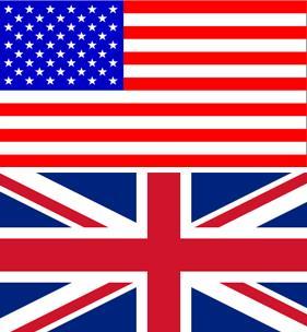 Traducciones de inglés británico y americano