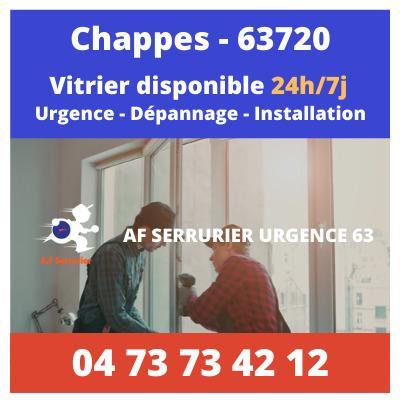 Vitrier sur Chappes – 24h/24 et 7j/7