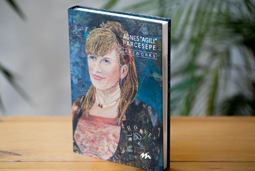 Contemporary artist hardcover book