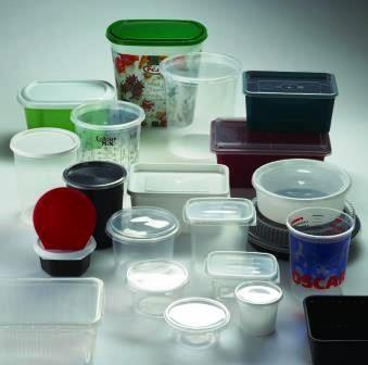 Containers and trays with lid