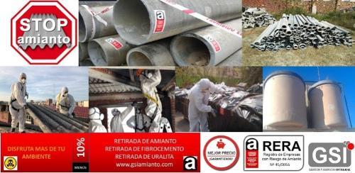 recogida de uralita amianto fibrocemento en portugal