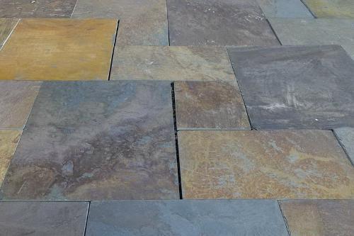 Copper Slate Paving Tils