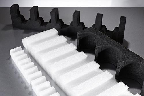 Ladungsträger / Zahnleisten aus Schaumstoff - nach Maß