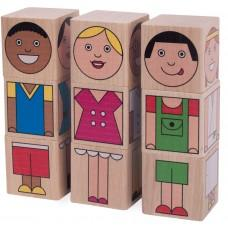 """Funny Kids"" Cubes"