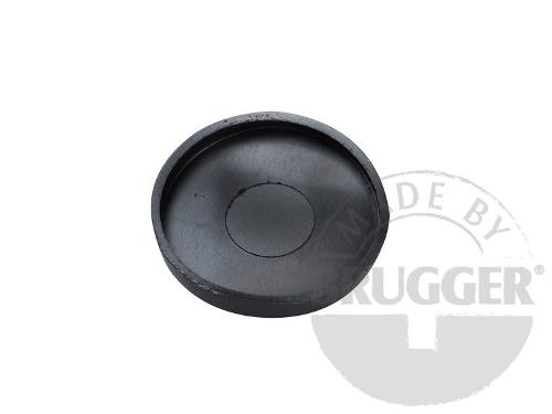 Protective cap for magnet systems, made of rubber...