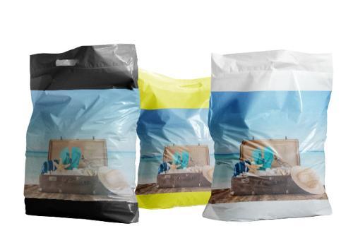 Plastiktragetasche