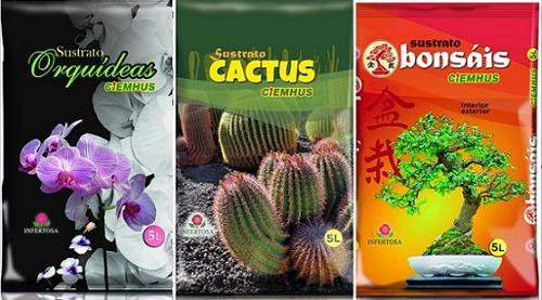 CIEMHUS SUBSTRATES ORCHIDS, CACTUS, BONSAI