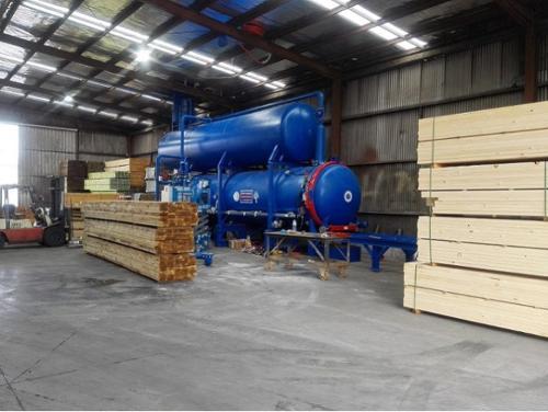 Impregnatori vuoto-pressione per legno mod. APV