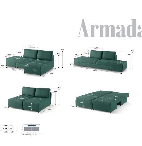 Luxury Post-modern Solid Wood Furniture Villa SimpSofabeds