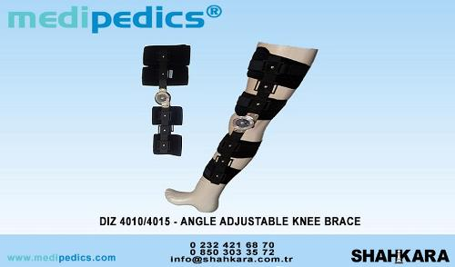 ANGLE ADJUSTABLE KNEE BRACE