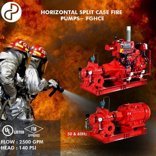 NFPA20 ULFM Fire fighting pump set / Equipos contra incendio