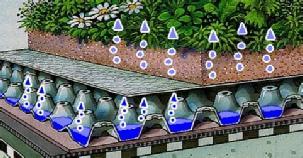 ECOVEGETAL a végétalisation des toitures A chaque projet une dalle