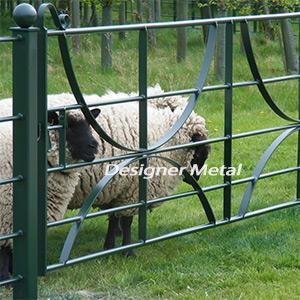 Estate Field Gates