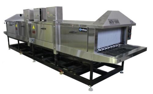 Conveyor (tunnel) washing machine