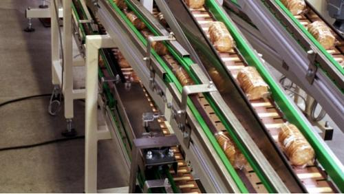 Hinged belt conveyor aluminium compact system